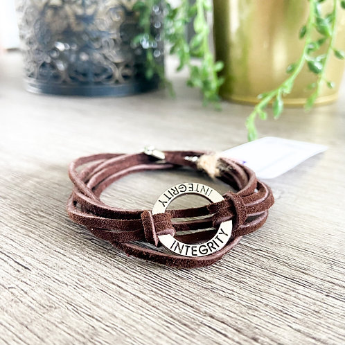 Parisa Azimaee - Leather Bracelet