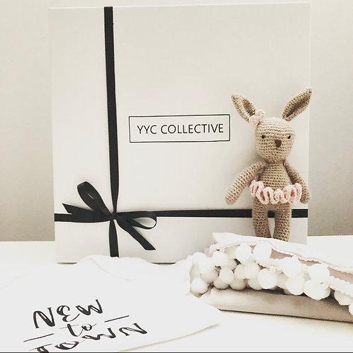 Crochet Bunny - Tiny Ballerina