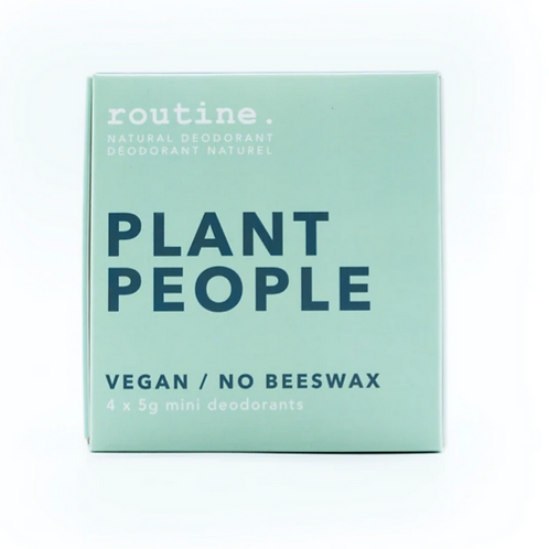 routine. Deodorant - Plant People Minis Kit (4 x 5g)
