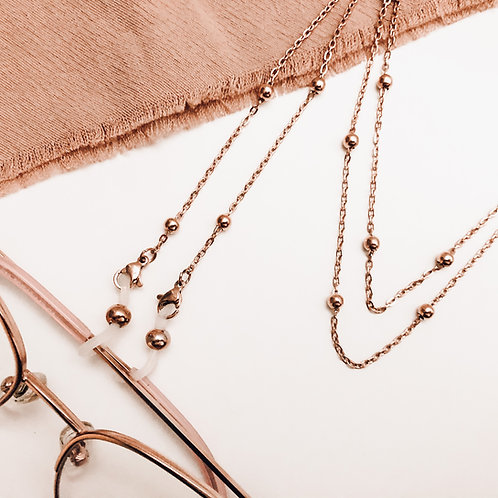 YYC Collective - Eyeglass + Mask Holder Necklace