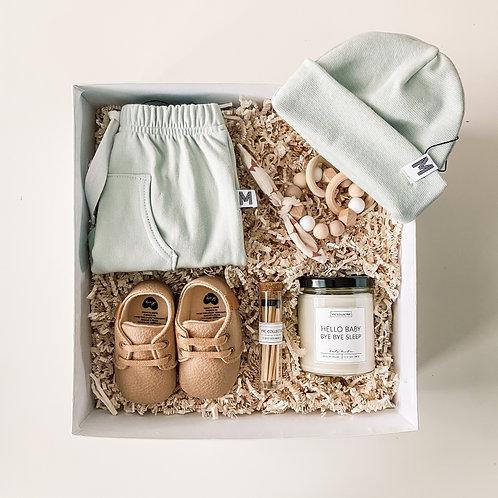 'Hello Baby' Gift Box (Mint)