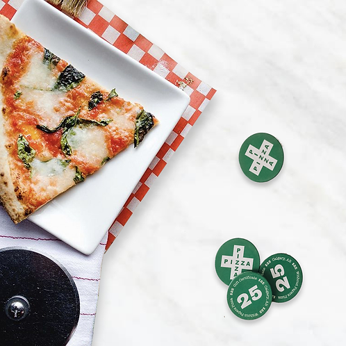Without Papers Pizza - Gift Card Chip
