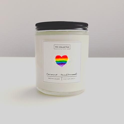 Love &  Pride Candle