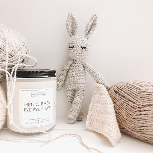Crochet Bunny - Sleepy Friend