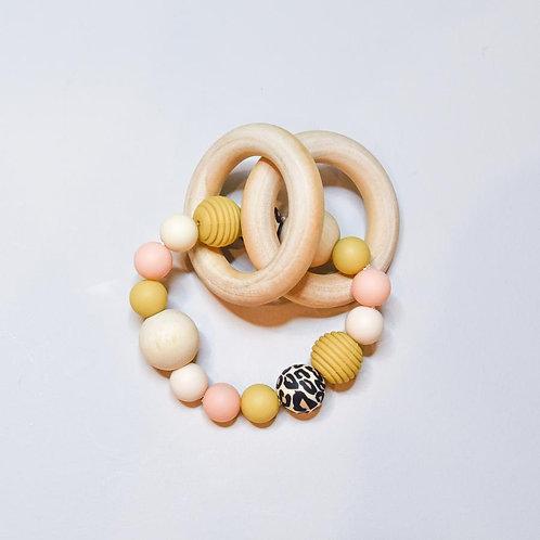 Ernest + Cali - Teething Ring (Wild One)