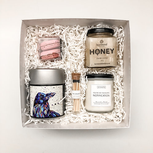 Tea + Macarons Gift Box