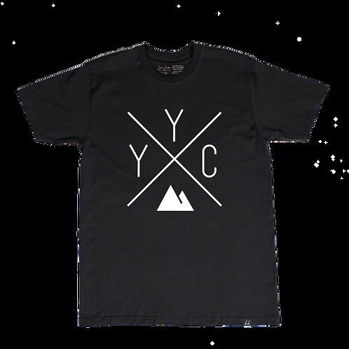 Local Laundry - YYC Black T-shirt