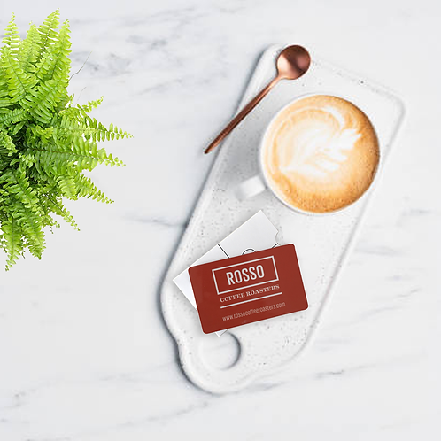 Rosso - Gift Card