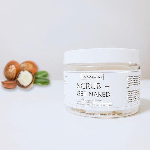 Scrub + Get Naked - Exfoliating Sugar Cubes