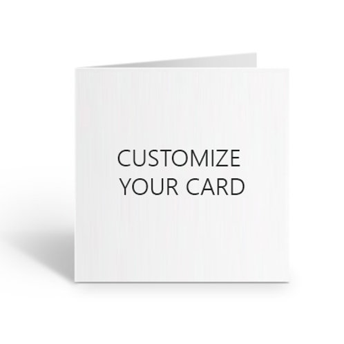Customize Your Card