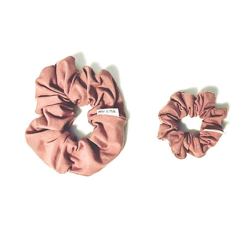 May & Mae - Dusty Mauve Scrunchy