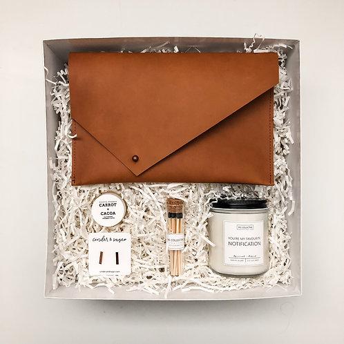 Studs + Clutch Gift Box
