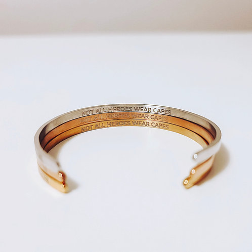 YYC Collective - Not All Heroes Wear Capes Bangle