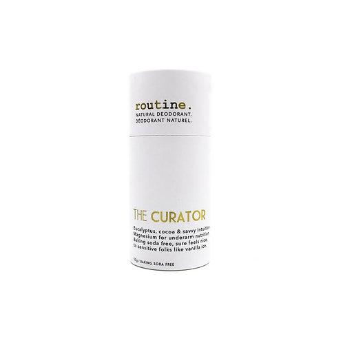 routine. Deodorant - The Curator Stick