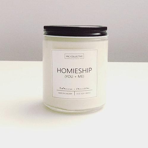 Homieship (You + Me) Candle