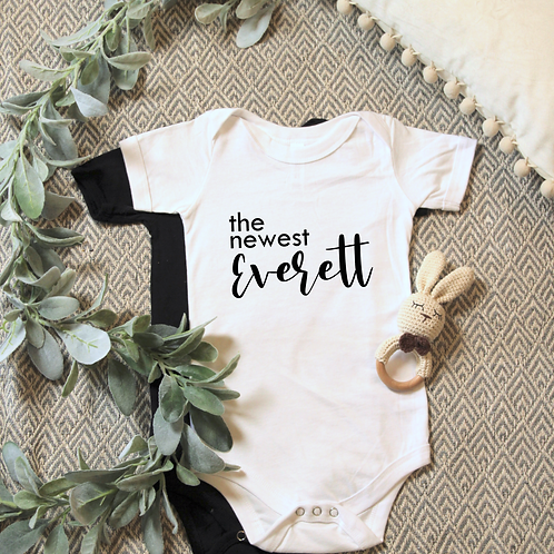 YYC Collective -'The Newest' Customizable Onesie