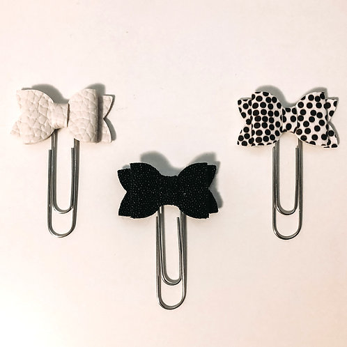Adorn Handcrafted Co. - Bow Paper Clip Trio