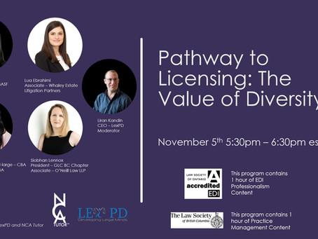 CPD Program: The Value of Diversity