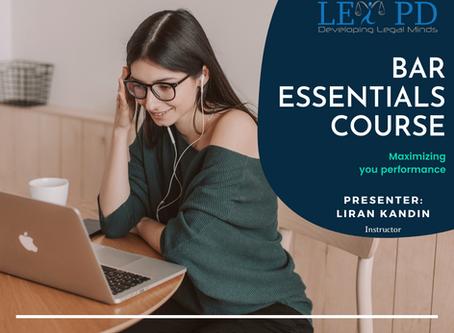 Bar Essentials Course - Sept 5 & 6
