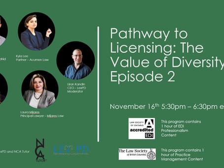 CPD Alert - The Value of Diversity - Episode 2