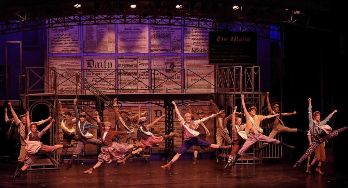 Newsies Lyric Stage