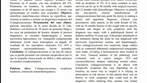 Colangiocarcinoma Intrahepático con manifestaciones clínicas atípicas: Reporte de Caso