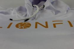 Crisp white hoodies