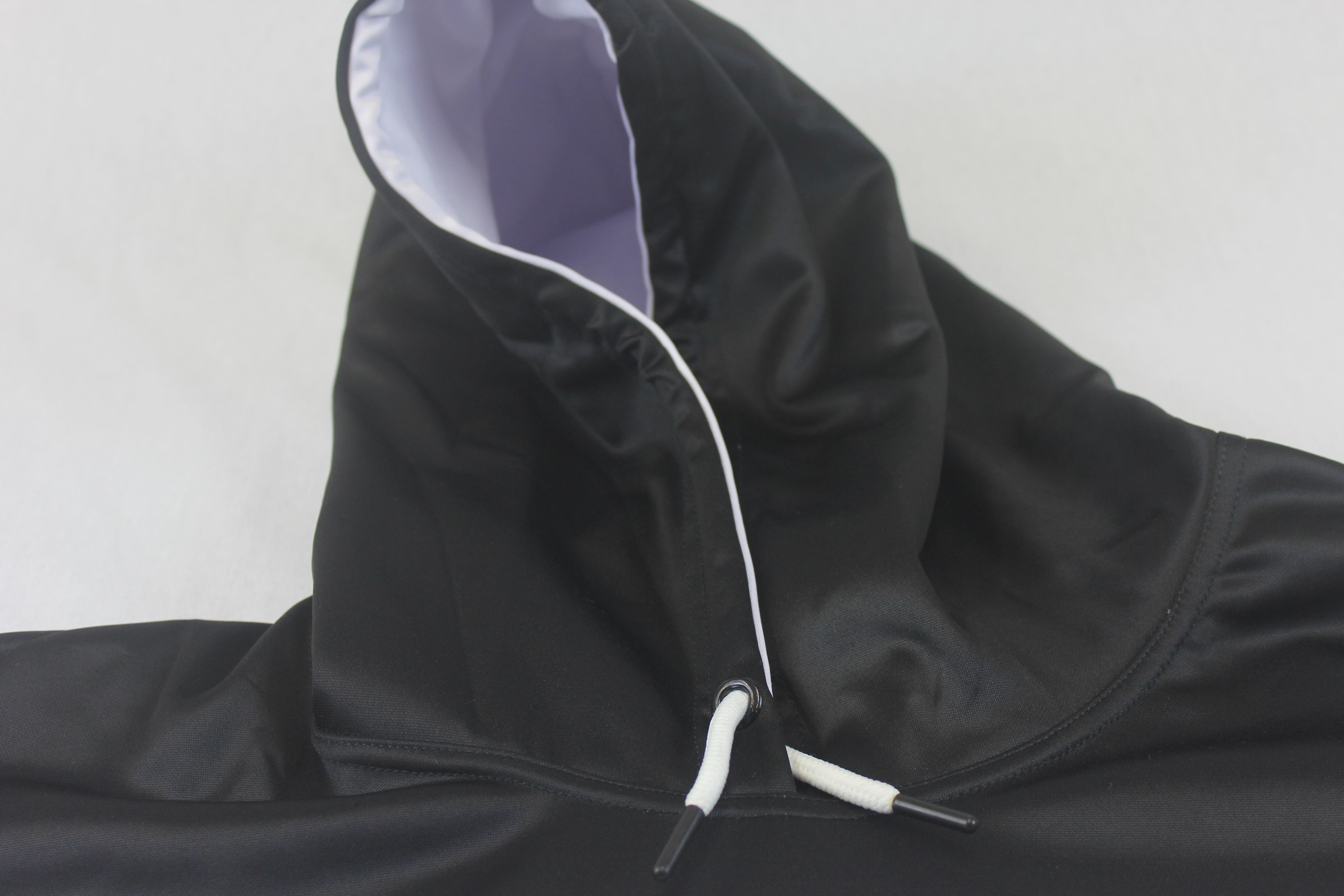 Chunky high neck hoodie