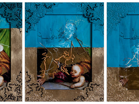 Venus and Cupid, the Revolution, Triptych