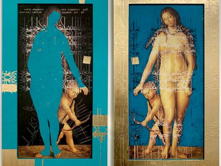 Venus and Cupid, Diptych