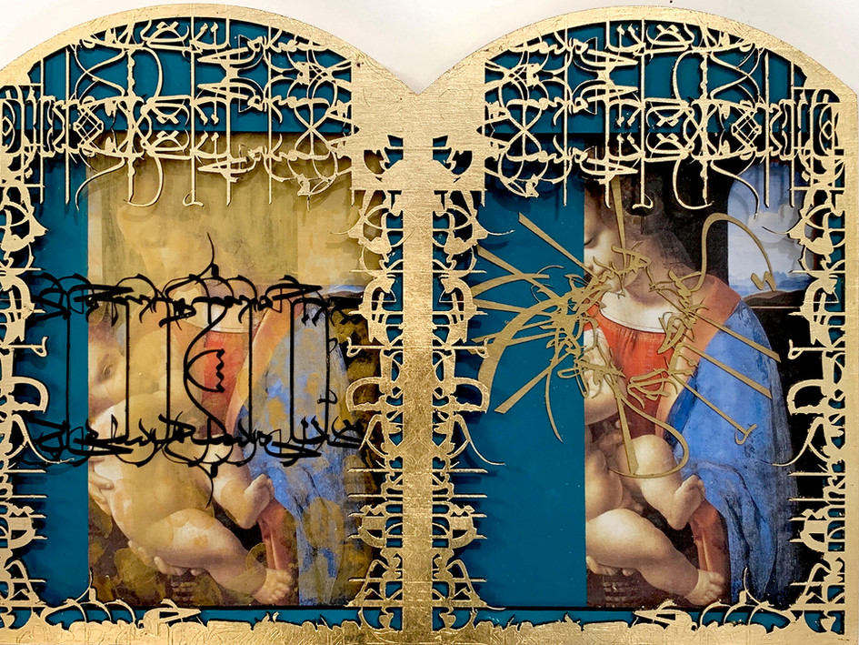 Madonna with Child, Diptych