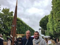 Salon jardins, jardin au Jardins des Tuileries