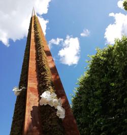 Flèche hommage à Notre-Dame de Paris (9m)