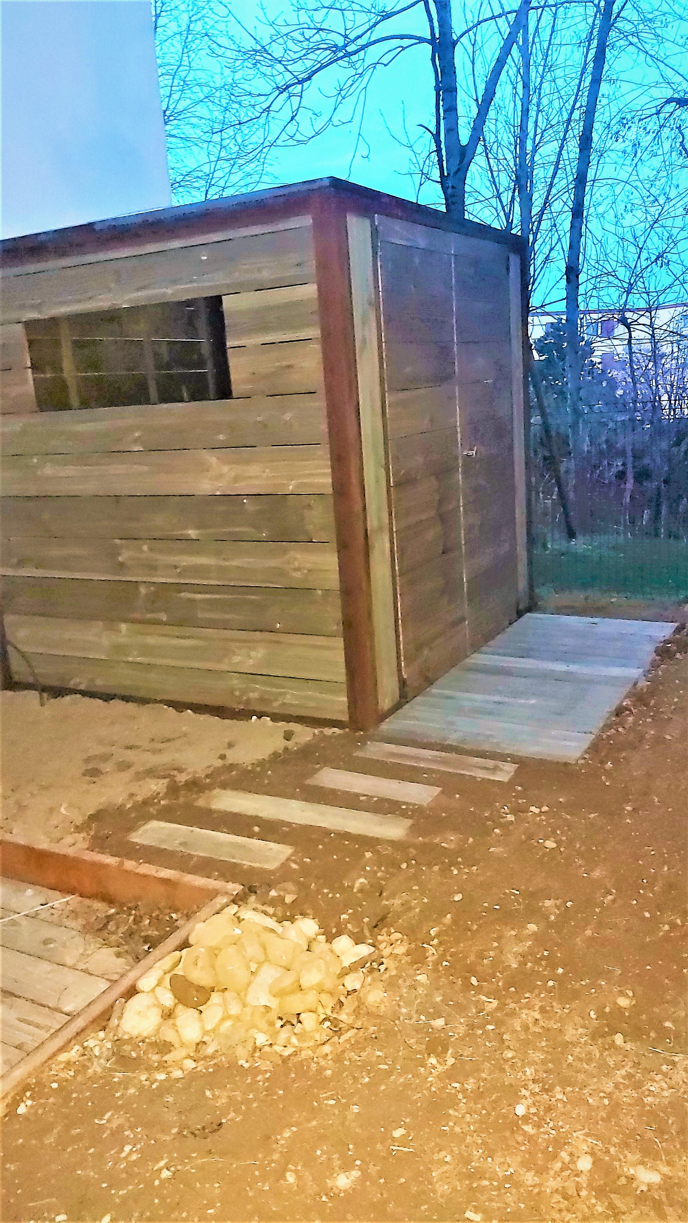 Conception et Réalisation cabane bois et métal