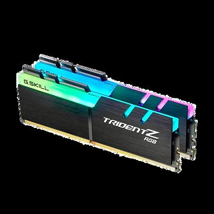Kit de Memória DRAM DDR4 32GB 2 X 16GB 3000Mhz Gskill Trident RGB