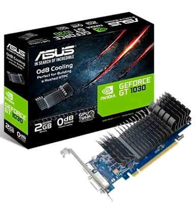 NVIDIA Geforce Asus GT 1030 2GB GDDR5 LP