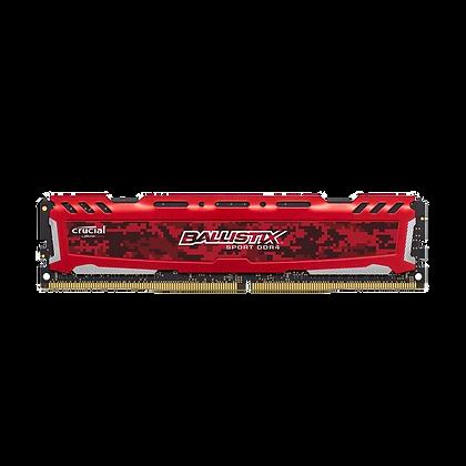 Memória DRAM DDR4 4GB 2666Mhz Crucial Ballistix Sport