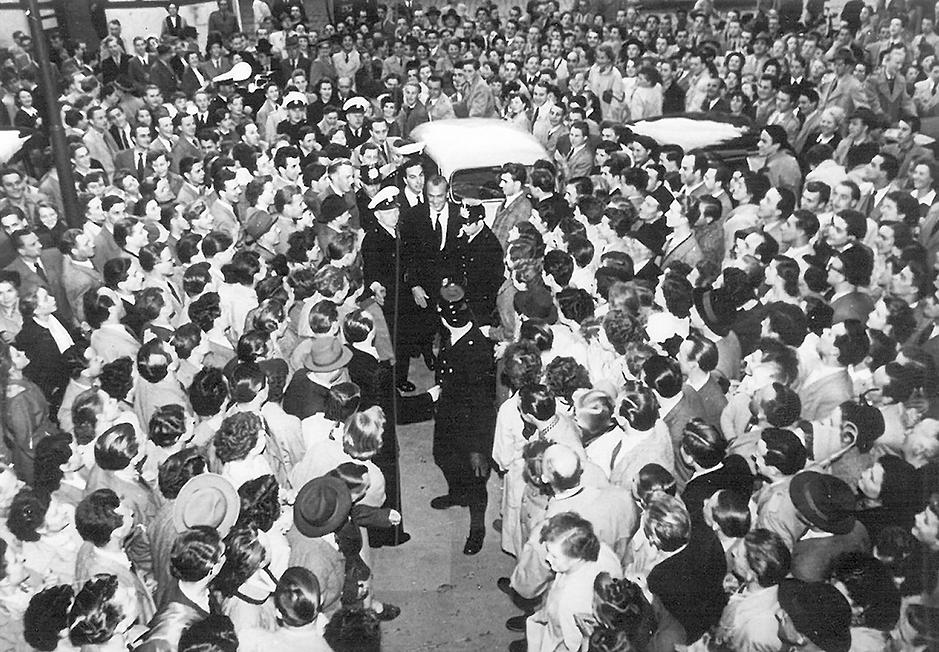 Gary Cooper vorm Astoria