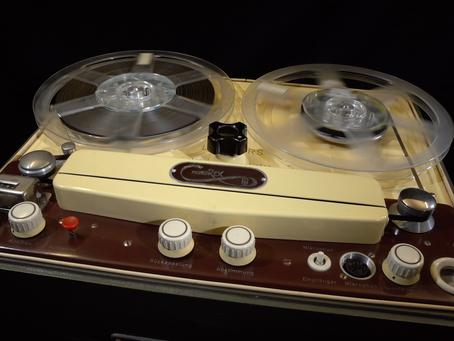 Klanggenuss vom Tonband anno 2021