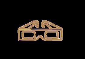 3D Brille Vektorgrafik