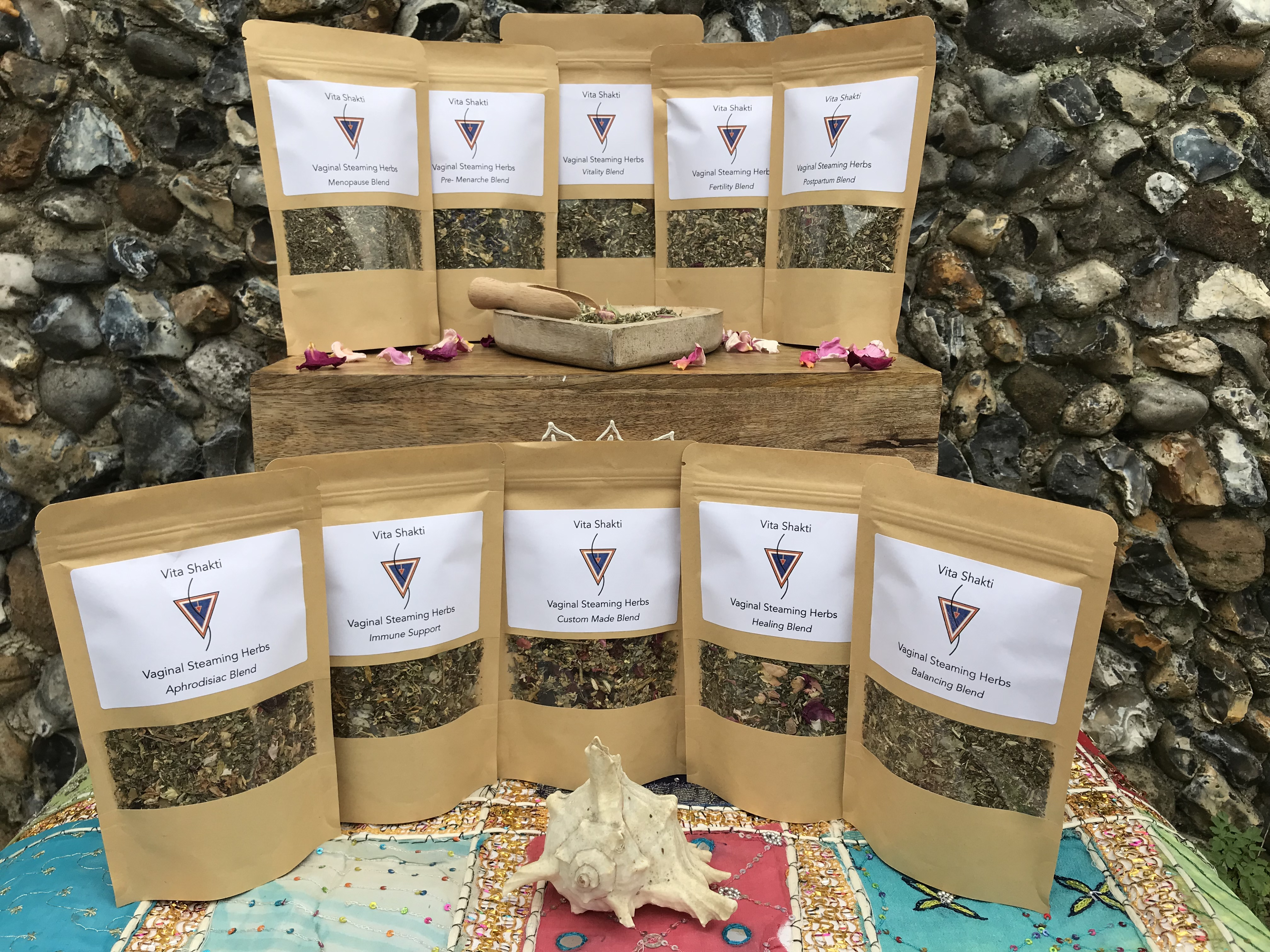Vita Shakti Vsteam herbal collection