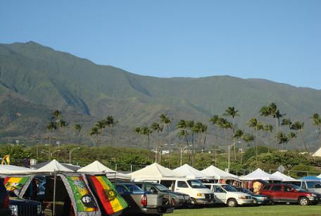 Maui Swap Meet in Kahului, Hawaii