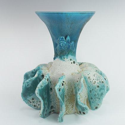 HāʻUkeʻUke (Sea Urchin) Vase 9