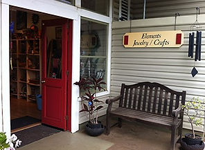 Elements Jewelry & Fine Crafts Gallery in Hawi, Big Island, Hawaii