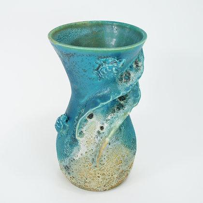 Honu (Turtle) Vase 15