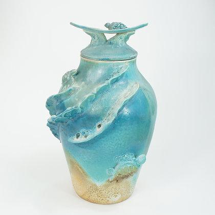 Honu (Turtle) Vase 75