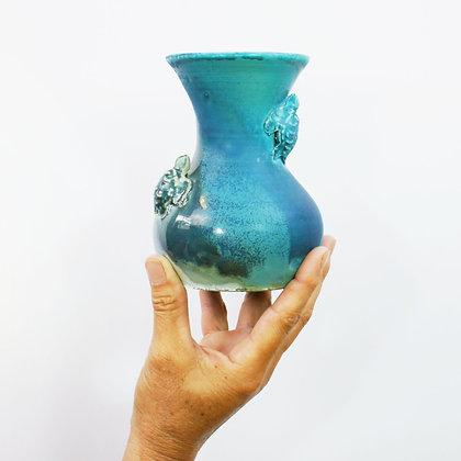 Honu (Turtle) Vase 14