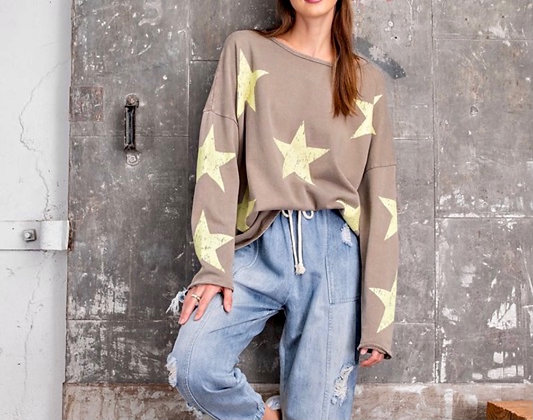 Slouch Star Sweater