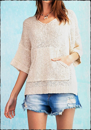 Slouchy Pocket Sweater