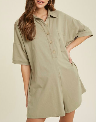 Romper with Buttons